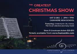 Greatest Christmas Show poster