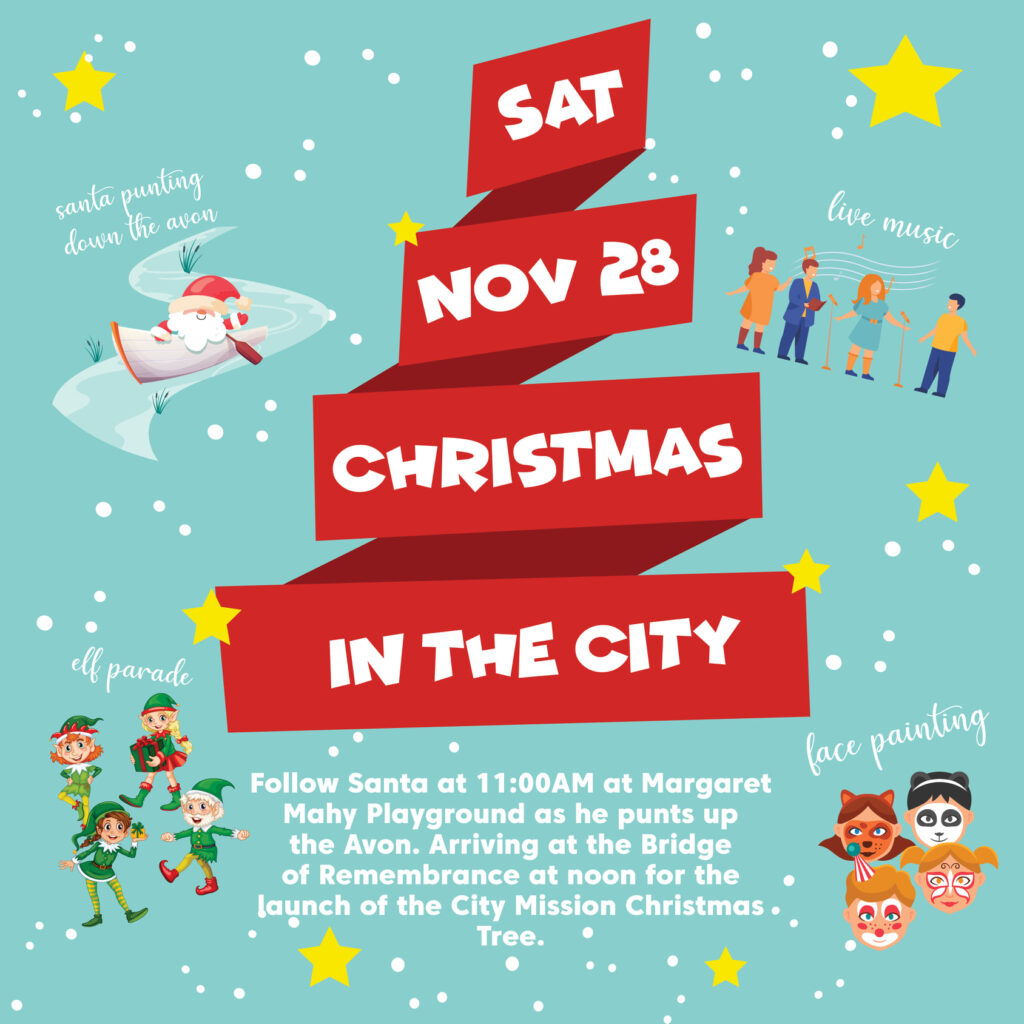 Christmas in the City poster