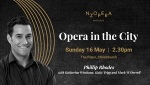 Opera in the city poster