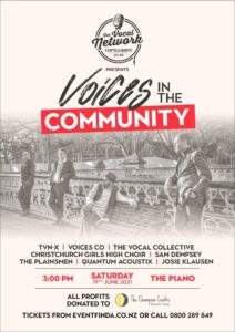 Voices in the community poster